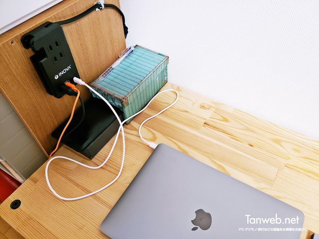 USB-C PD 30WでノートPCを充電する