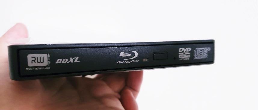 外付け Blu-ray ディスクドライブ