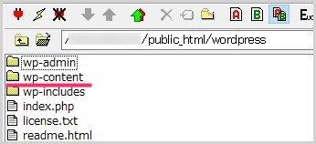 FTP ツールで WordPress にアクセス