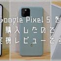Pixel 5 を購入しました!カメラ撮影写真サンプル多めで実機レビューです