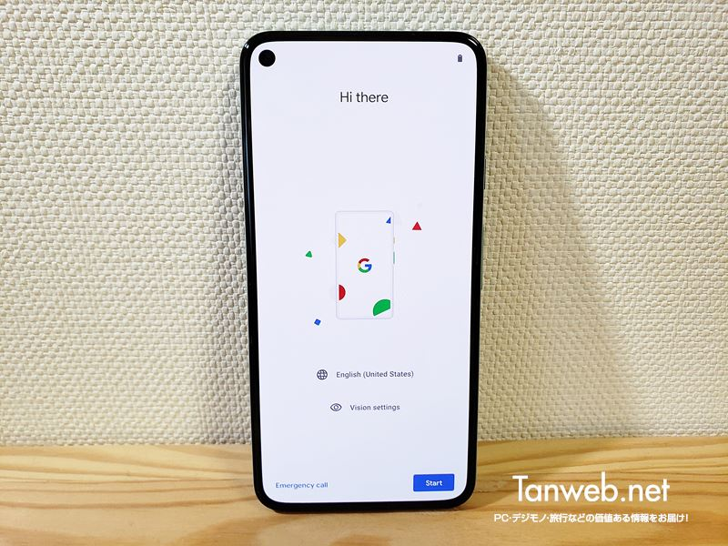 Google Pixel 5 正面