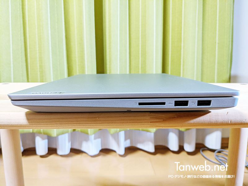 Lenovo IdeaPad Slim 右側面