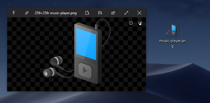 Windows システムアイコン画像を抽出する手順06