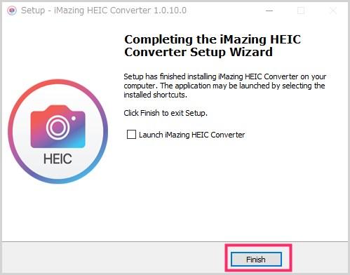 iMazing HEIC Converter のインストール手順06