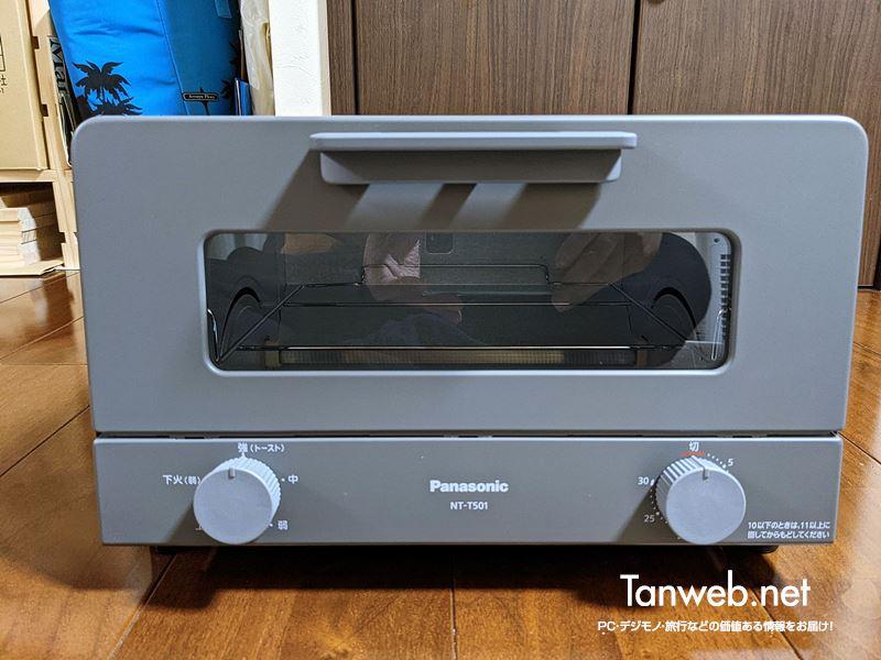 Panasonic オーブントースター NT-T501 の「外観」01