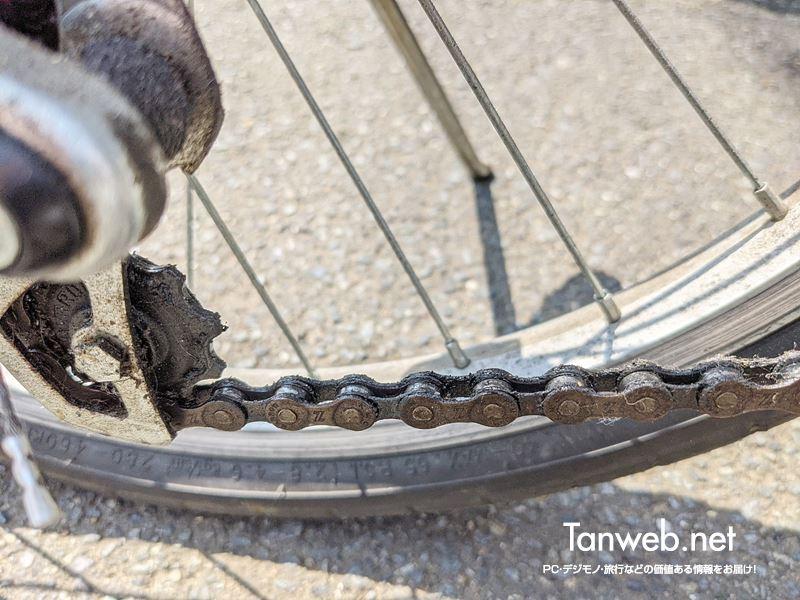 自転車のチェーン洗浄の必要性