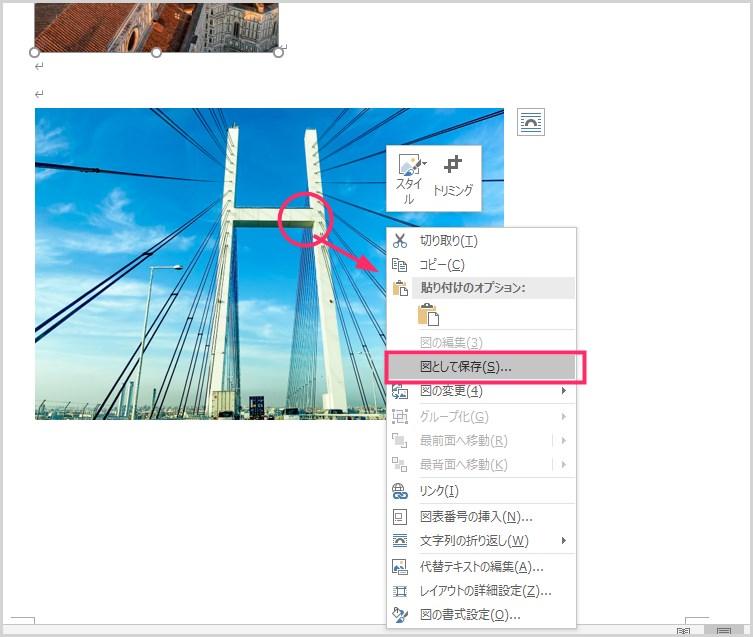 Word 添付の画像を JPG 形式に抽出保存する手順05