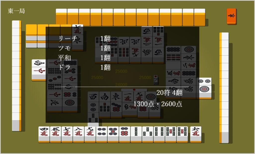 GAME DESIGN 麻雀 のプレイ方法など簡単な紹介04