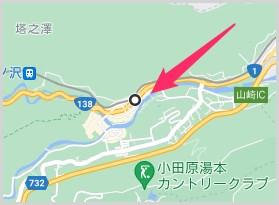 Google マップ距離の測定機能の使い方02