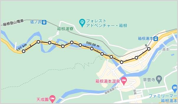 Google マップ距離の測定機能の使い方03