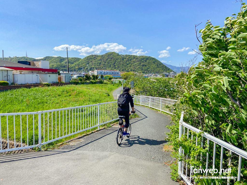 金目川サイクリングコース「スタート地点」