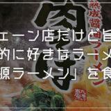 平塚の美味しいラーメン屋「丸源ラーメン」チェーン店だけど旨いぜ