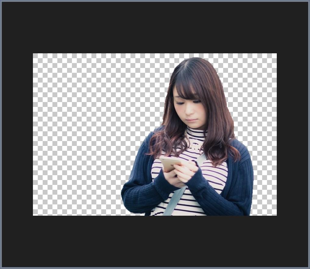 Word 背景を削除した画像を透過画像として保存する手順03
