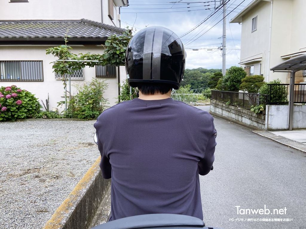 ジェットヘルメット「TNK工業 XX-606」外観&内装を紹介02