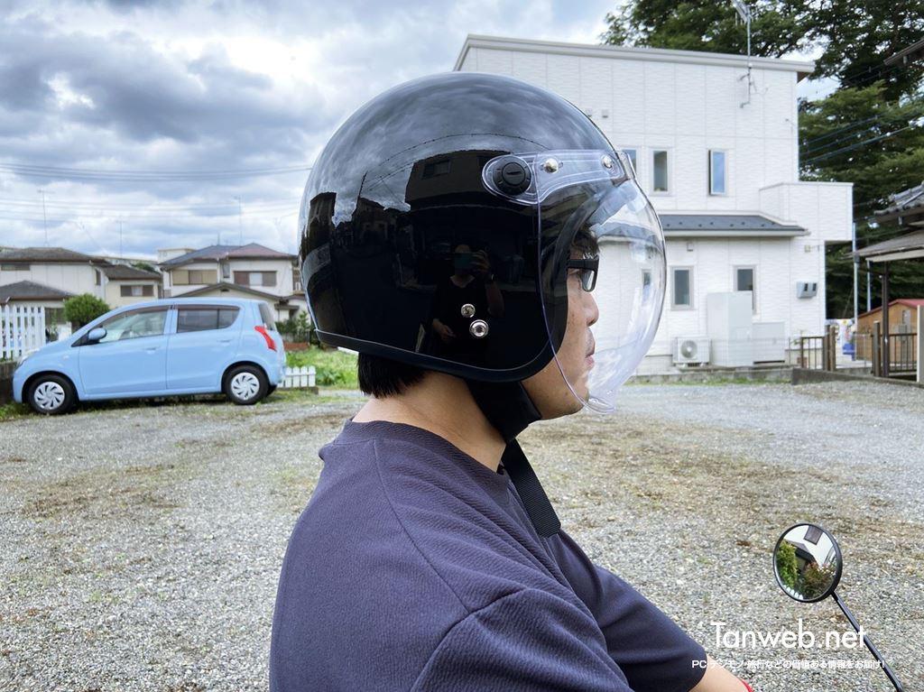 ジェットヘルメット「TNK工業 XX-606」外観&内装を紹介01
