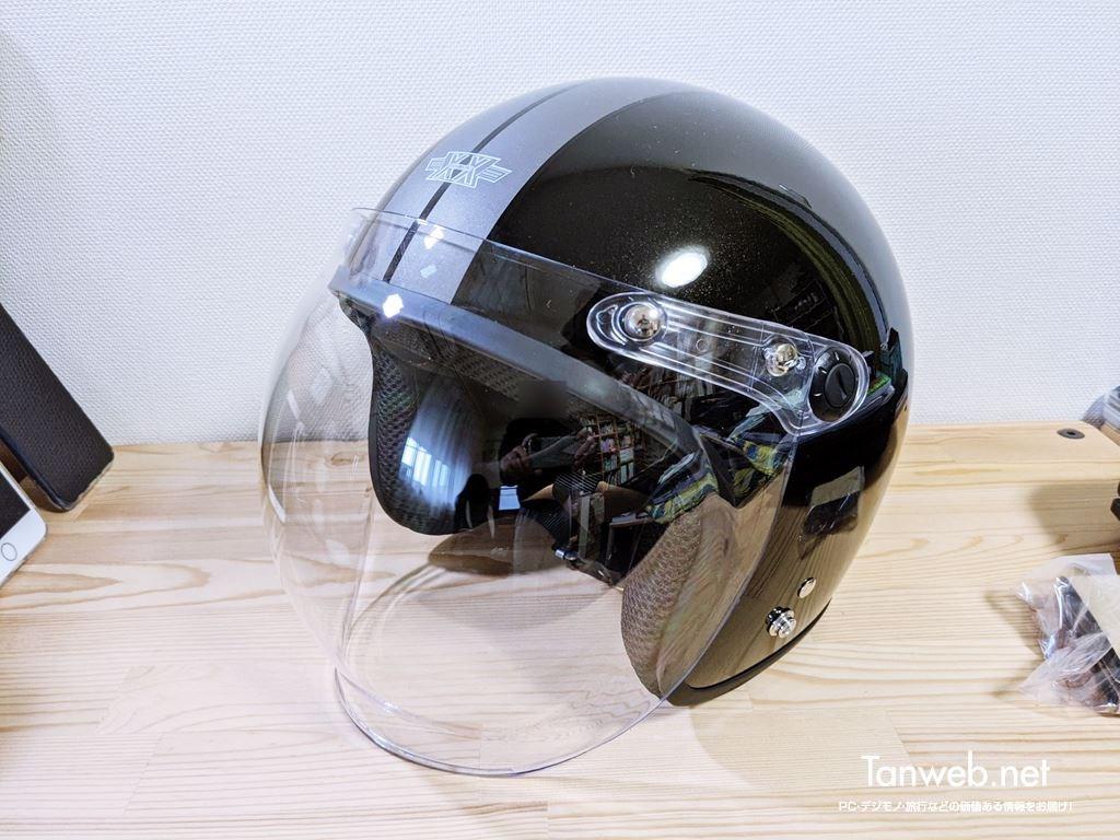 ジェットヘルメットTNK工業 XX-606