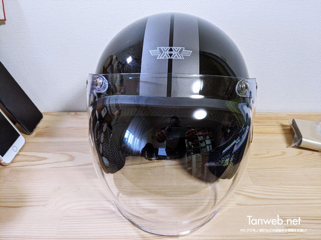 ジェットヘルメット「TNK工業 XX-606」外観&内装を紹介04