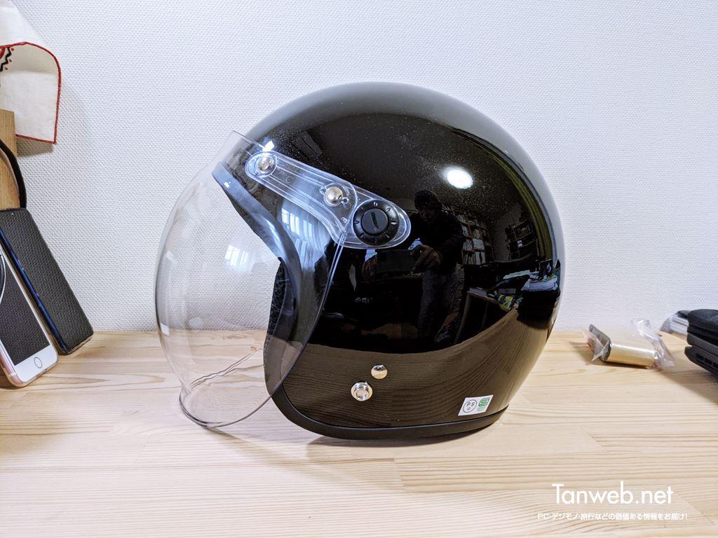 ジェットヘルメット「TNK工業 XX-606」外観&内装を紹介06