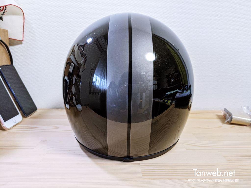 ジェットヘルメット「TNK工業 XX-606」外観&内装を紹介05