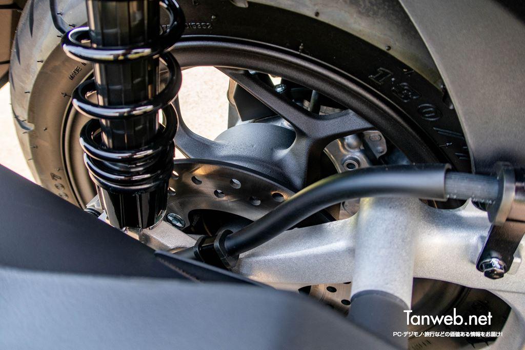 PCX160 後輪ディスクブレーキ