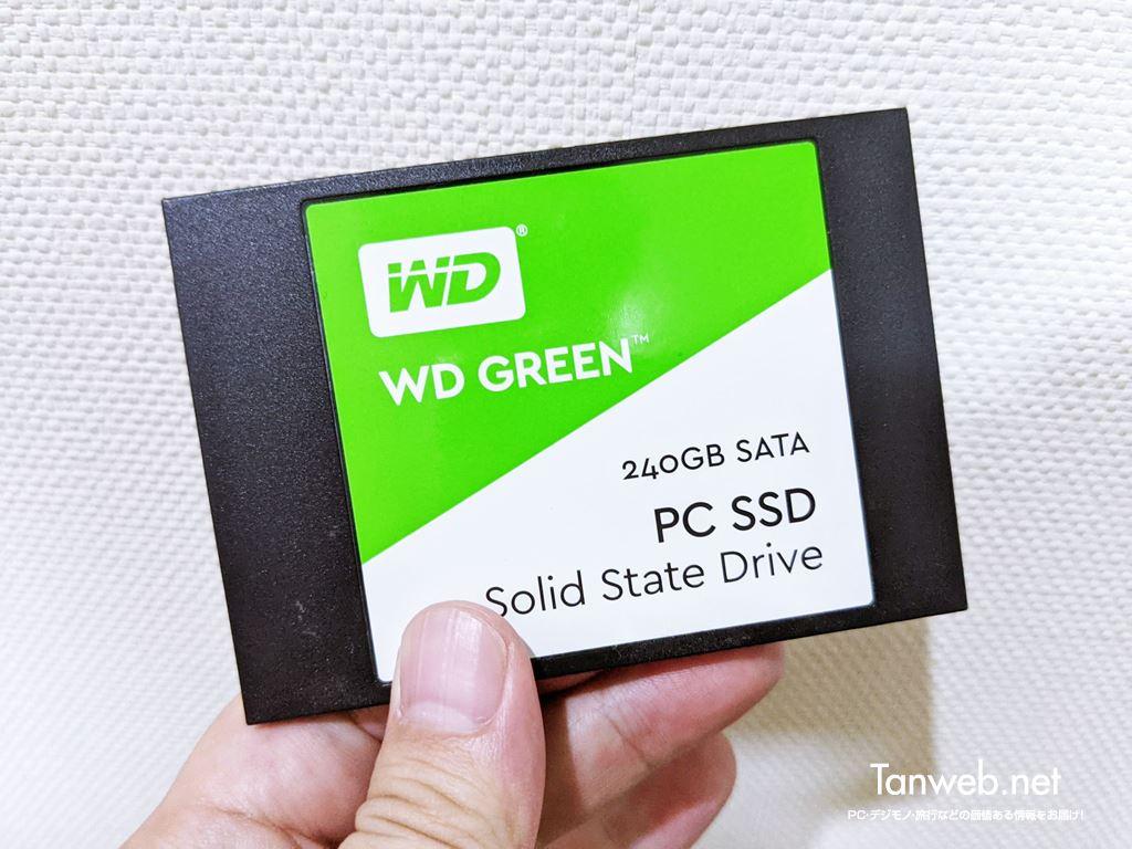 複製後の複製元の SSD のデータについて