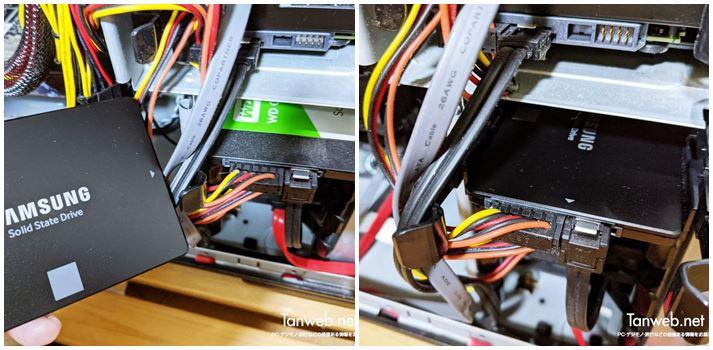 Samsung Data Migration でクローン SSD を作成する手順05