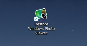 Restore Windows Photo Viewer to Windows 11/10 アイコン